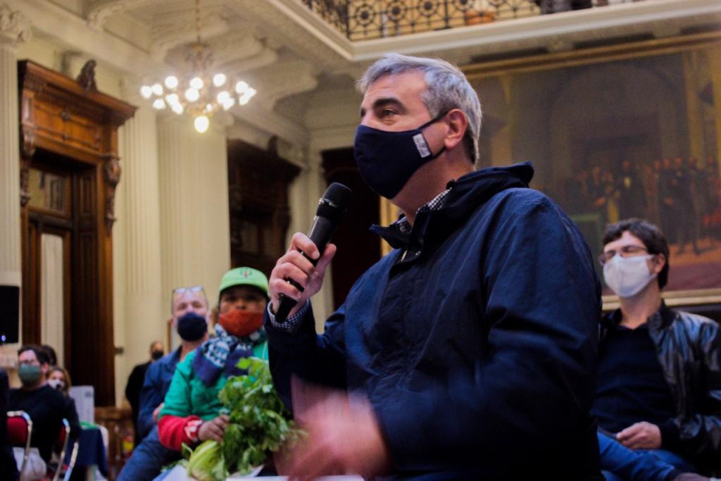 """Francisco Durañona: """"Con suerte, en los territorios de mayor capacidad de producción de alimento local se provee a menos del 5% de la población"""""""