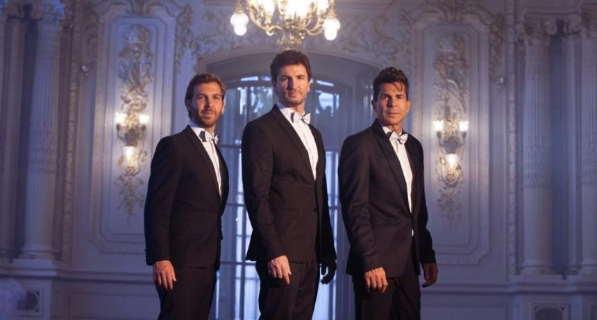 El primer trío lírico-pop de la Argentina, llega a Escobar con un show a beneficio del Hospital Provincial Erill