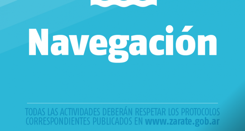 Zárate: Cáffaro firmó el Decreto que habilita la salida de embarcaciones desde los clubes náuticos y de pesca