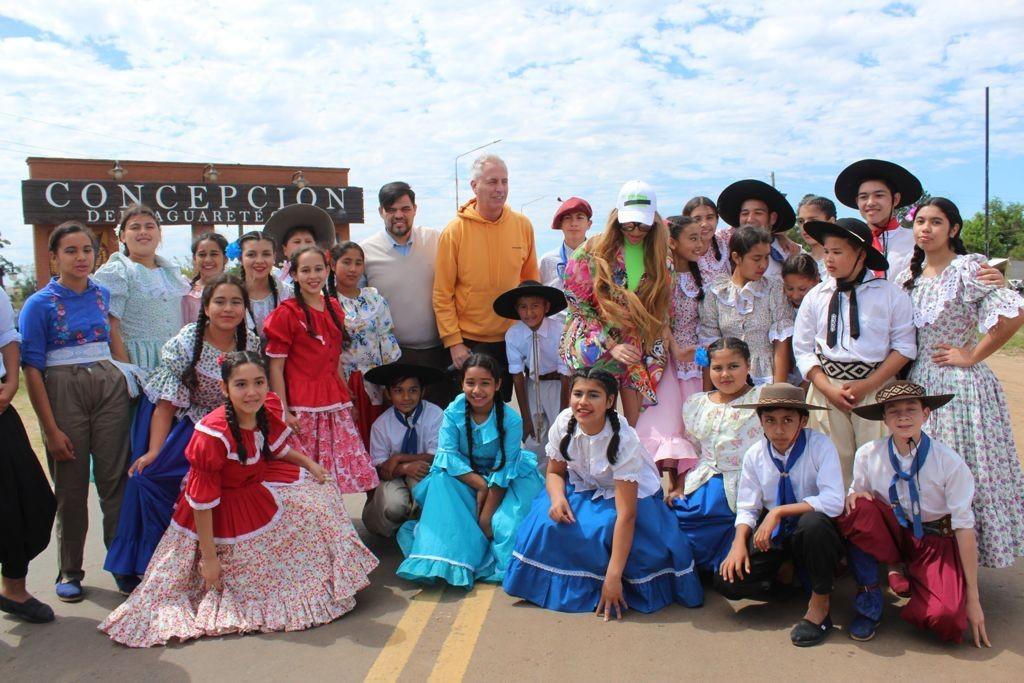 Corrientes: Por el Mundo, con Marley y Vicky Xipolitakis, hizo escala en la Provincia