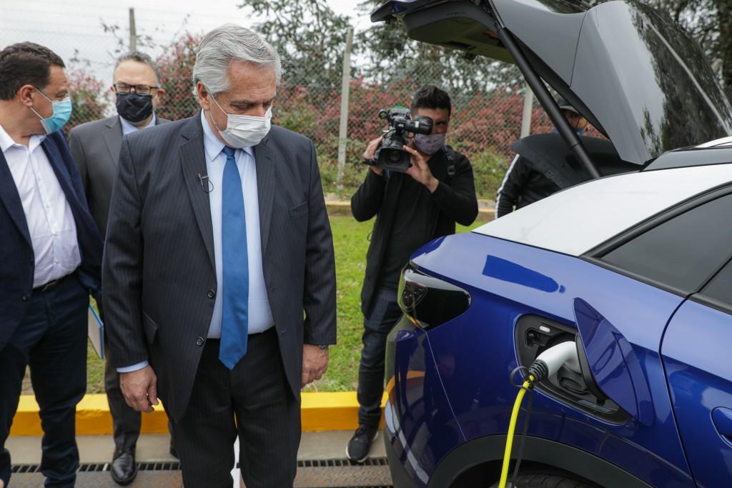 El Presidente Fernández presentó el proyecto de Ley de Promoción de la Movilidad Sustentable