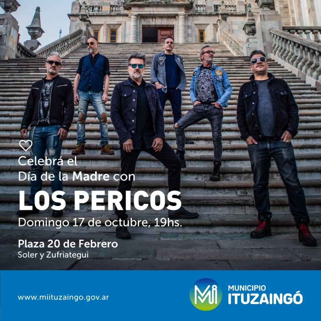 Ituzaingó: Celebrá el Día de la Madre con Los Pericos