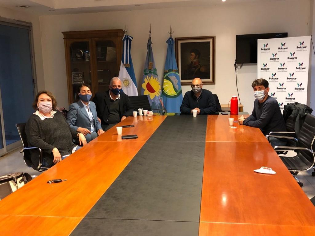Balcarce: Reino recibió al vicerrector de la Universidad Nacional de Mar del Plata