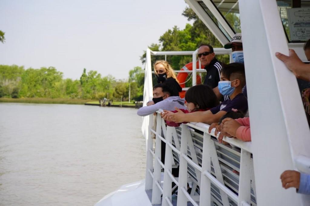 Tigre: El Municipio fomenta el cuidado ambiental en los programas de Turismo Social