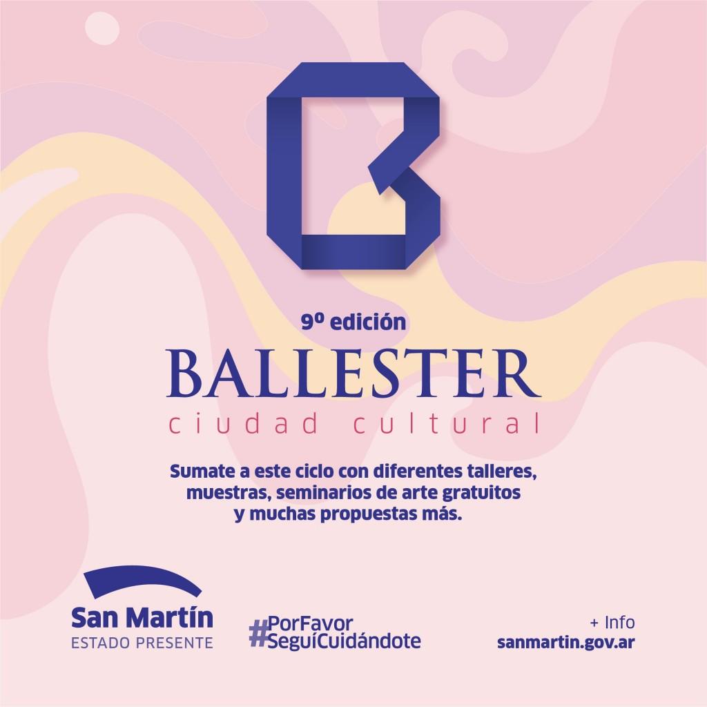 San Martín: El Municipio celebra la 9ª edición de Ballester Ciudad Cultural