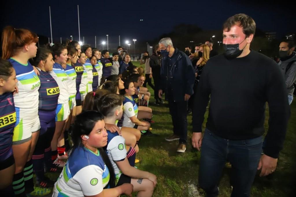 Avellaneda: Jorge Ferraresi, Alejo Chornobroff y Magdalena Sierra inauguraron obras en el Polideportivo Néstor Kirchner