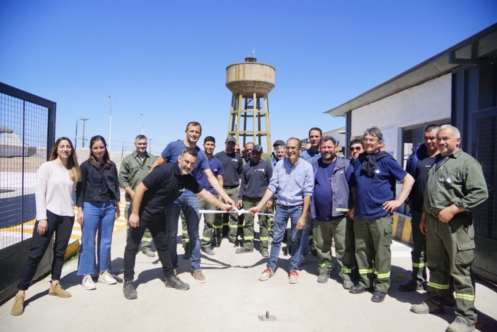 Bolívar: Pisano y Bucca inauguraron el Centro de Operaciones de la Dirección de Obras Públicas