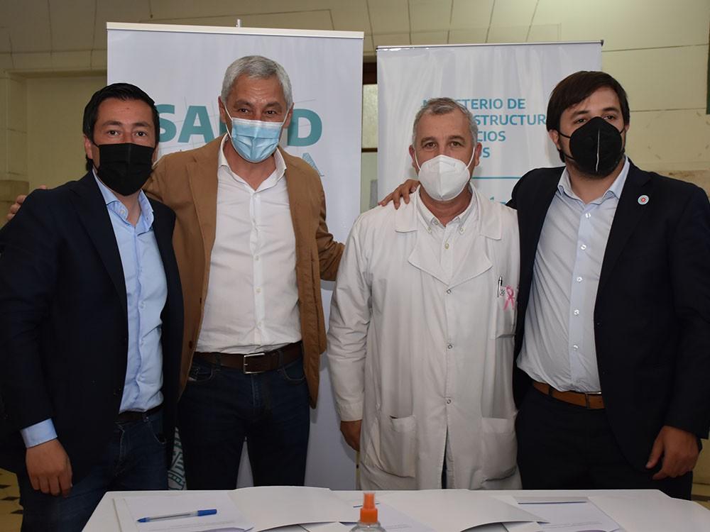 Berisso: Cagliardi participó de reunión de trabajo junto a Kreplak y Nardini