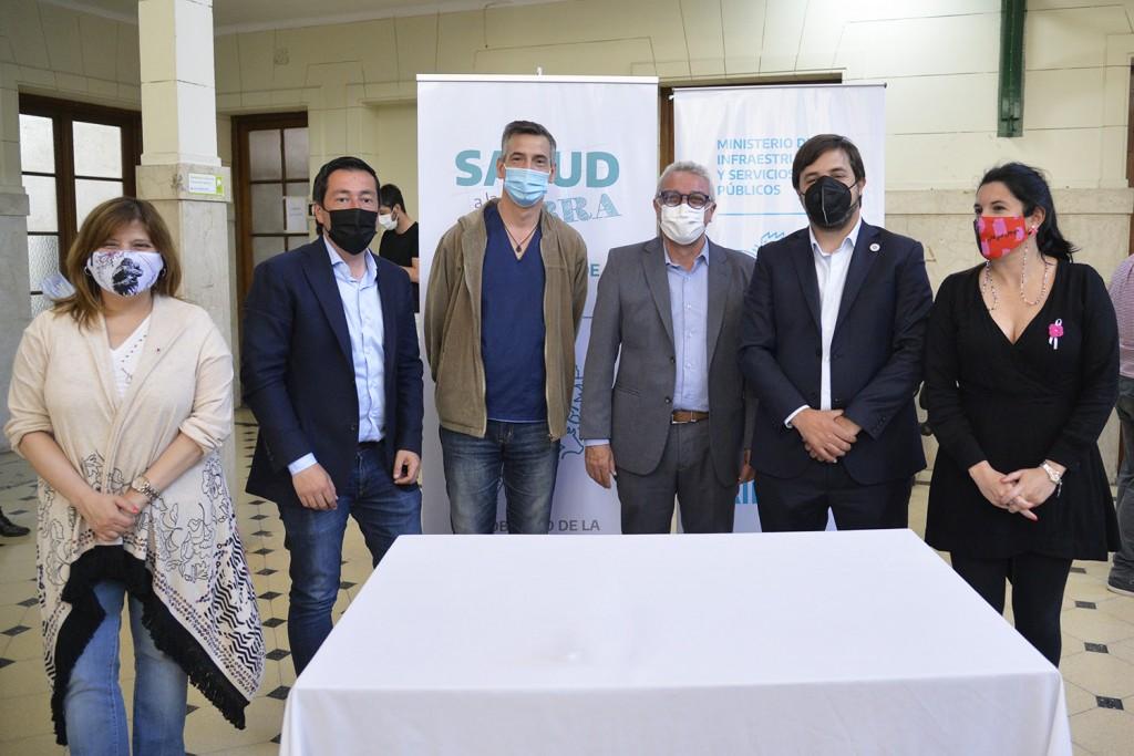 Tigre: Zamora, Kreplak y Nardini acordaron avanzar en las obras de refacción del Hospital Provincial de General Pacheco
