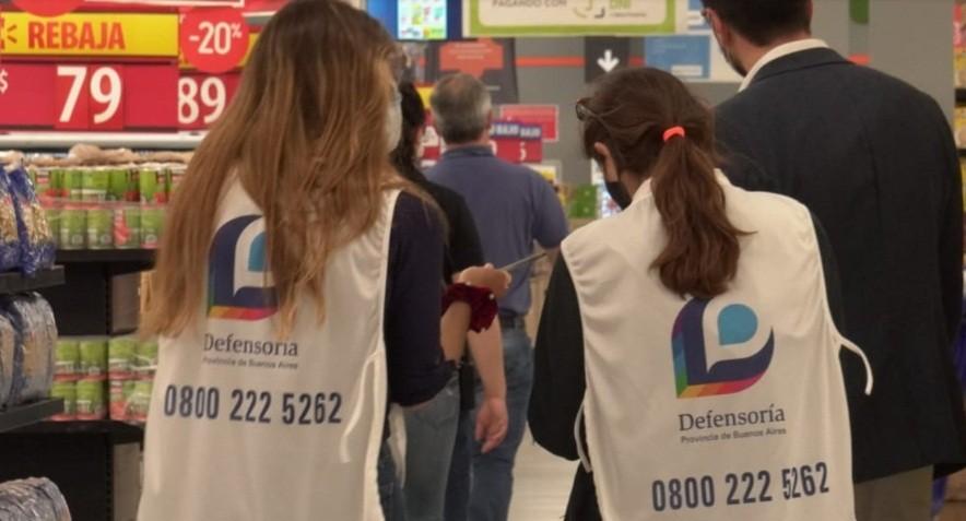La Defensoría del Pueblo controla precios en supermercados de la Provincia