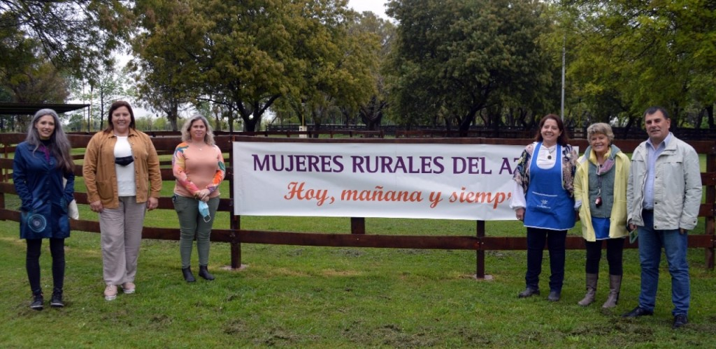 Azul: El intendente Bertellys participó de la celebración del Día de la Mujer Rural