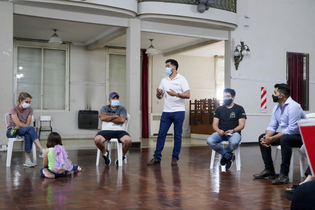 C. de Areco: El Municipio en conjunto con el SEDRONAR realizaron una agenda de trabajo