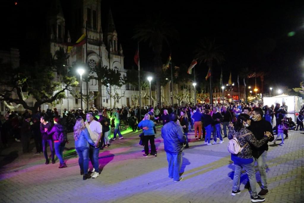 Bolívar: El centro cívico se vistió de fiesta para la vuelta de Cultura Activa