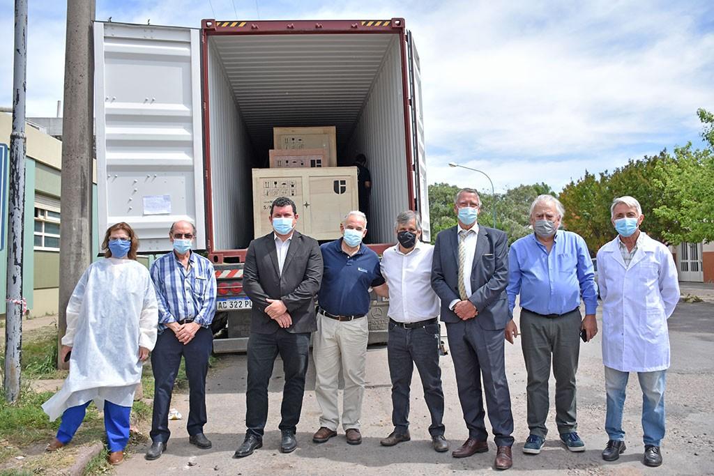 Chivilcoy: Arribó el tomógrafo de última generación adquirido por el Municipio para el Hospital