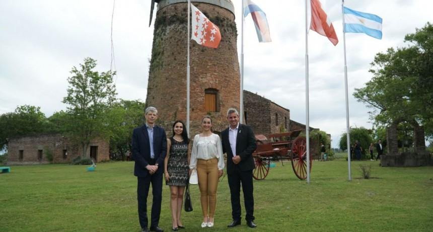 Colón (ER): El Embajador de Suiza en Argentina fue recibido por Walser en el Molino Forclaz