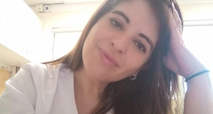 """Alejandra Ruz: """"En Sanidad vamos hacer una buena elección, porque el oficialismo del miedo de Héctor Daer no va más"""""""