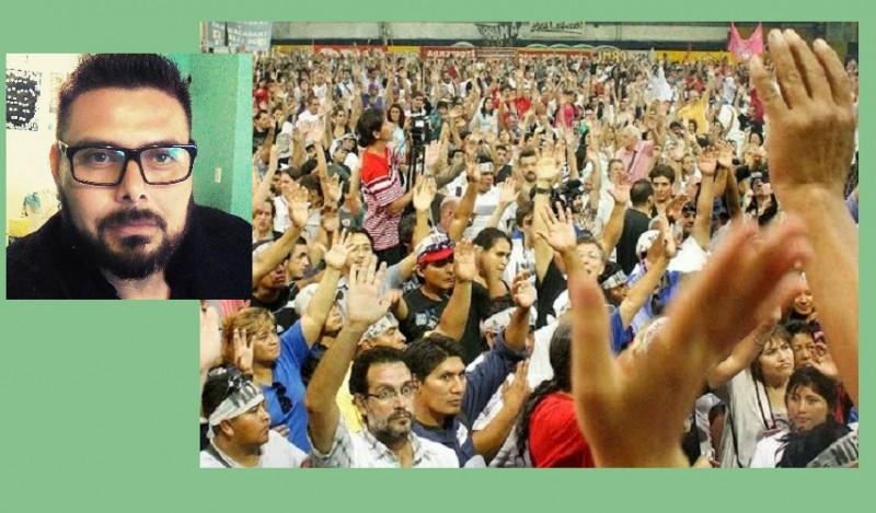 """Roque Ortiz: """"Es imprescindible que las organizaciones populares recuperen el espíritu de lucha cuando la Patria está en peligro"""""""