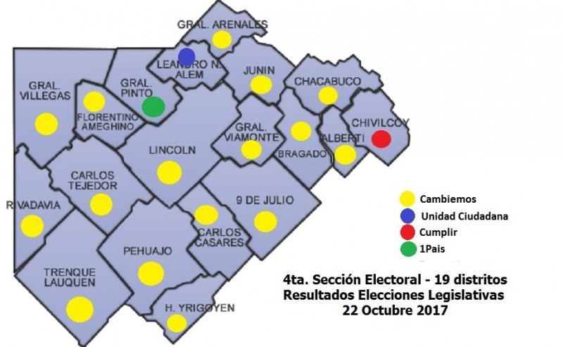 Elecciones PJ: El randazzismo se quedó con la mayoría de los Consejeros de la 4ª Sección