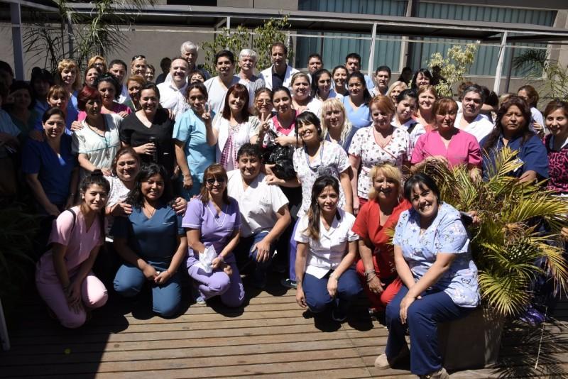 Malvinas Argentinas: Se homenajeó a los enfermeros en su día