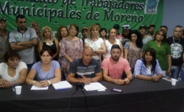 "Marcelo Cosme: ""Estamos anunciando un plan de lucha, con quite de colaboración, paro total, o movilización"""