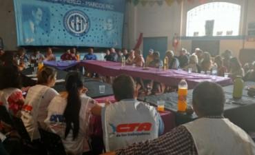 La CGT Regional Oeste rechazó el proyecto de reforma laboral, porque implica un retroceso para los trabajadores