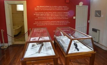 San Martín: Se reinauguró el Museo Juan Manuel de Rosas, luego de refacciones