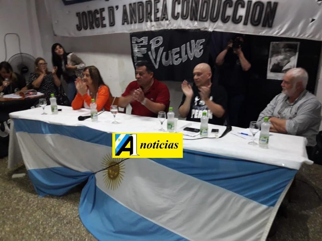Merlo: Lanzamiento del Mo.Po.Si., encabezado por Jorge D' Andrea (ATSA)