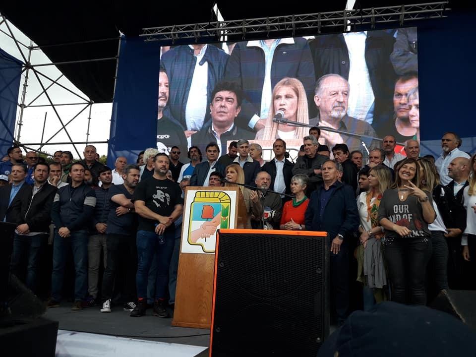 Merlo: El peronismo unido conmemoró el Día de la Militancia