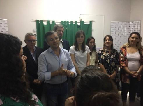 Hurlingham: Zabaleta reinauguró con ampliaciones y mejoras la Casa de la Mujer