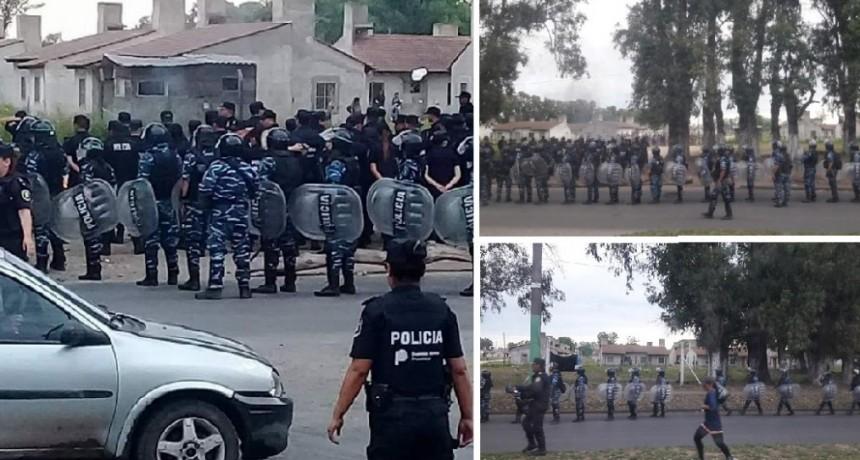"""José C. Paz: Conflicto político por desalojo de """"Las 300 casitas"""""""
