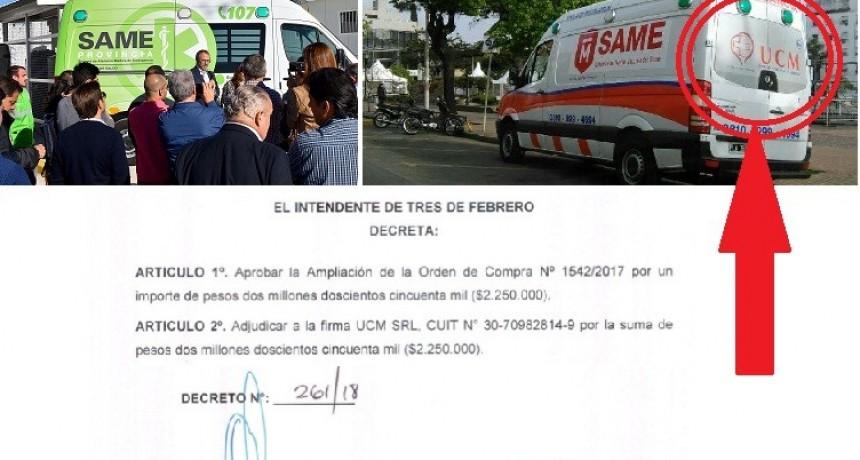 Tres de Febrero: Valenzuela aprendió muy rápido, hace negocios privados con la salud pública