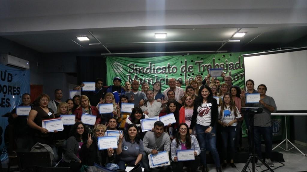 Jornada de Capacitación en el Sindicato de Trabajadores Municipales de Moreno