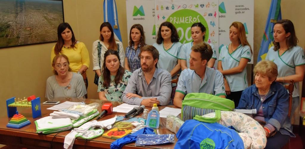 Mercedes: Único municipio reconocido por el Senado Nacional por el programa ´Primeros Mil Días´