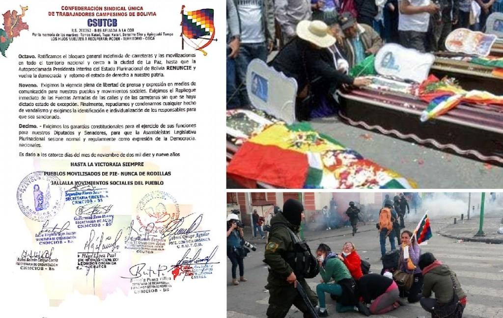 """Organizaciones sindicales de Bolivia ratifican """"el bloqueo general indefinida de carreteras"""