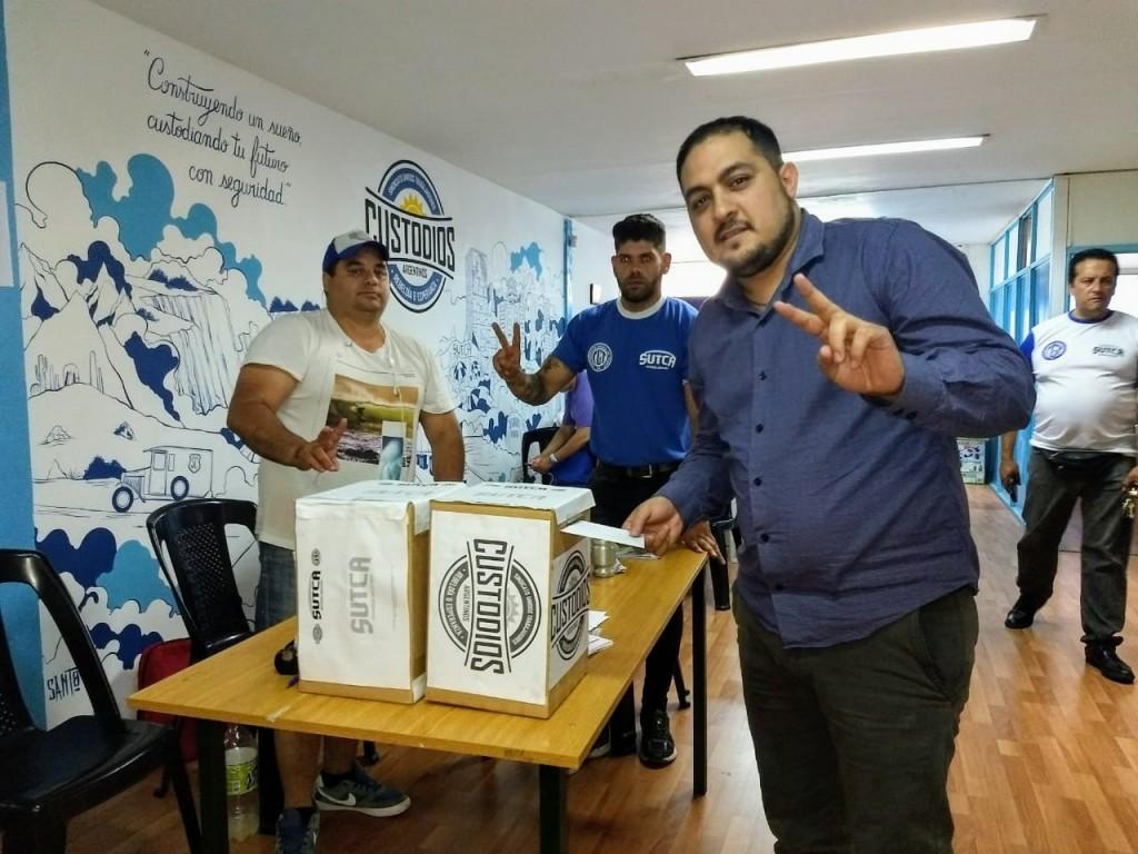 Custodios: Reeligieron a Christian López por 4 años más al frente de SUTCA