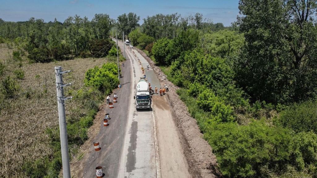 Escobar: La municipalidad reparó más de 15 mil m2 de la Ruta Provincial 25