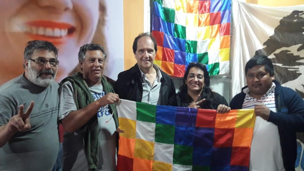 """Ariel Basteiro: """"Bolivia se desangra y siempre las víctimas las pone el pueblo. Son campesinos, son indígenas y son obreros"""""""