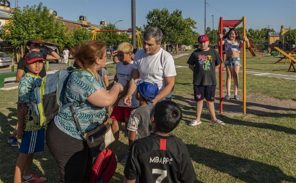 Hurlingham: Zabaleta inauguró la obra de urbanización del barrio Los Milagros en Villa Tesei