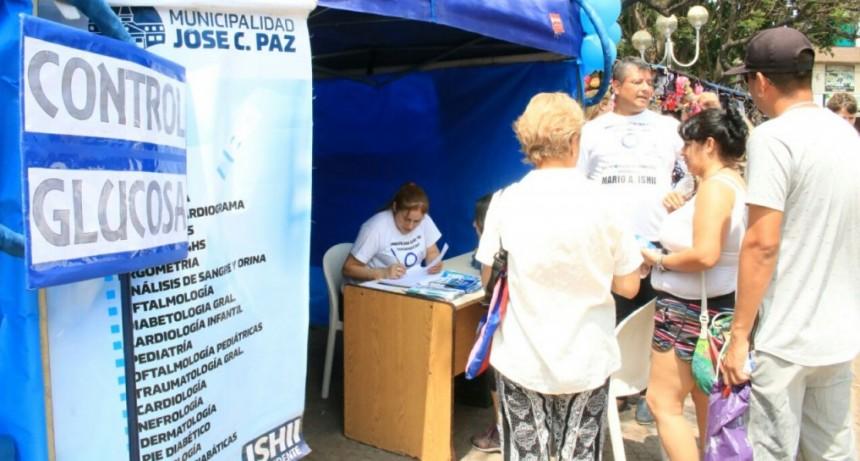 José C. Paz: El Centro Integral del Diabético realizó una jornada de concientización