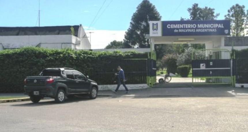 Malvinas Argentinas: El cementerio de Grand Bourg tendrá velatorio Municipal