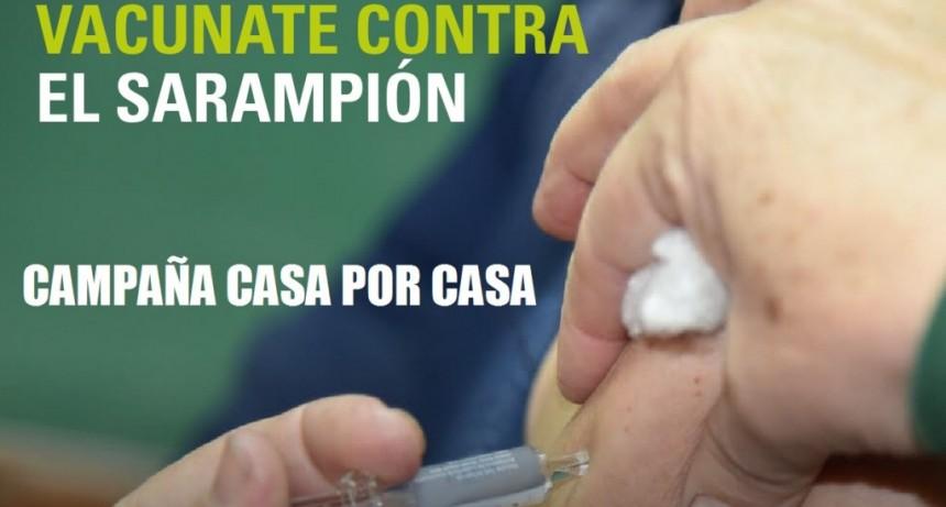 Merlo: Masiva campaña de vacunación domiciliaria contra el sarampión