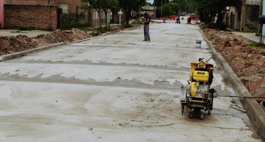 Mercedes: Ustarroz superó las 150 cuadras pavimentadas, producto del buen manejo de los fondos municipales
