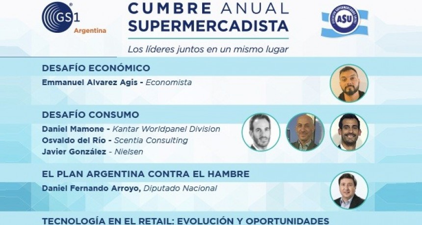 El martes 26 se desarrollará la cumbre Supermercadista Argentina en la Rural