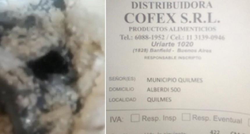 """Quilmes: ATE denuncia al intendente Martiniano Molina """"por entregar comida podrida"""""""