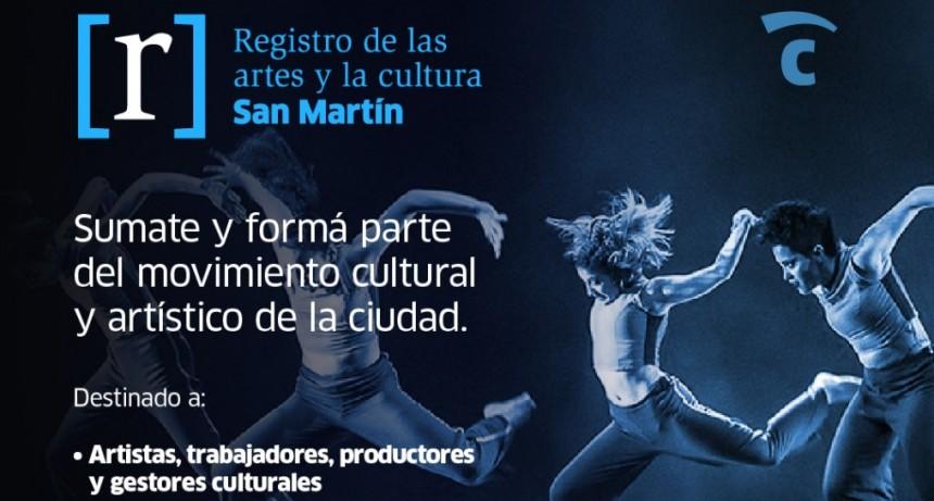 San Martín lanza un nuevo sitio online para registrar artistas del distrito