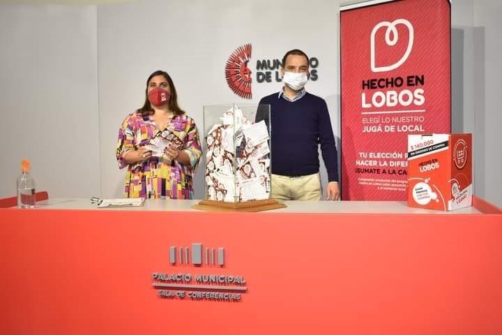 """Entregaron los premios a los ganadores de """"Hecho en Lobos"""""""