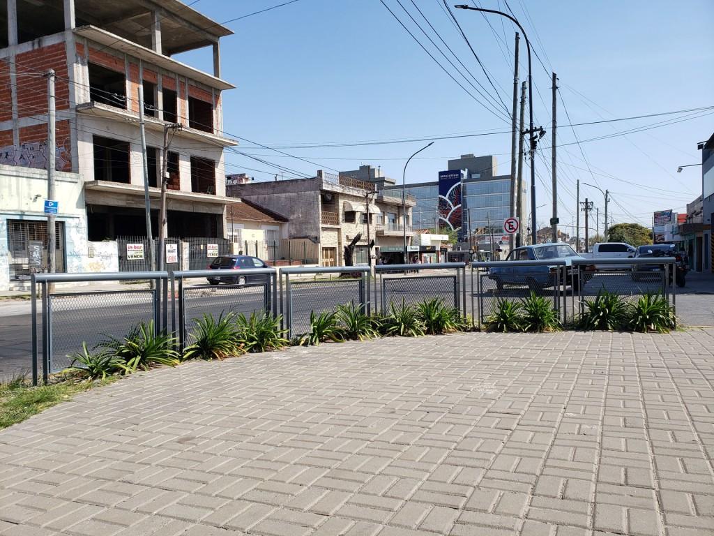 Berazategui: Terminan la segunda etapa de reorganización del espacio público en la Av. 14