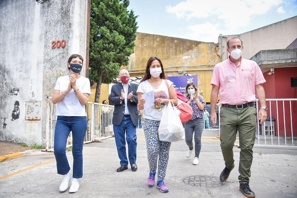 Quilmes: Ante la disminución de contagios, Mayra Mendoza cerró el Centro de Aislamiento Sanitario montado en la UNQ
