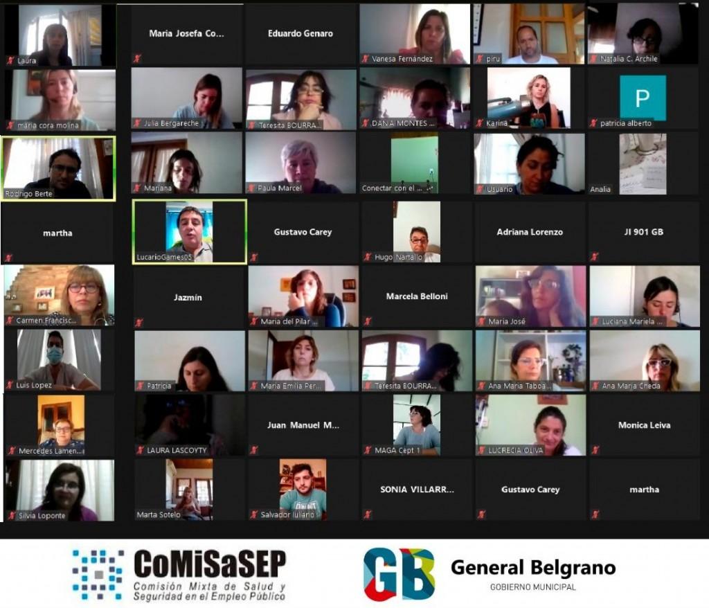 Gral. Belgrano: El Consejo de Salud evalúa el Regreso Seguro a clases presenciales