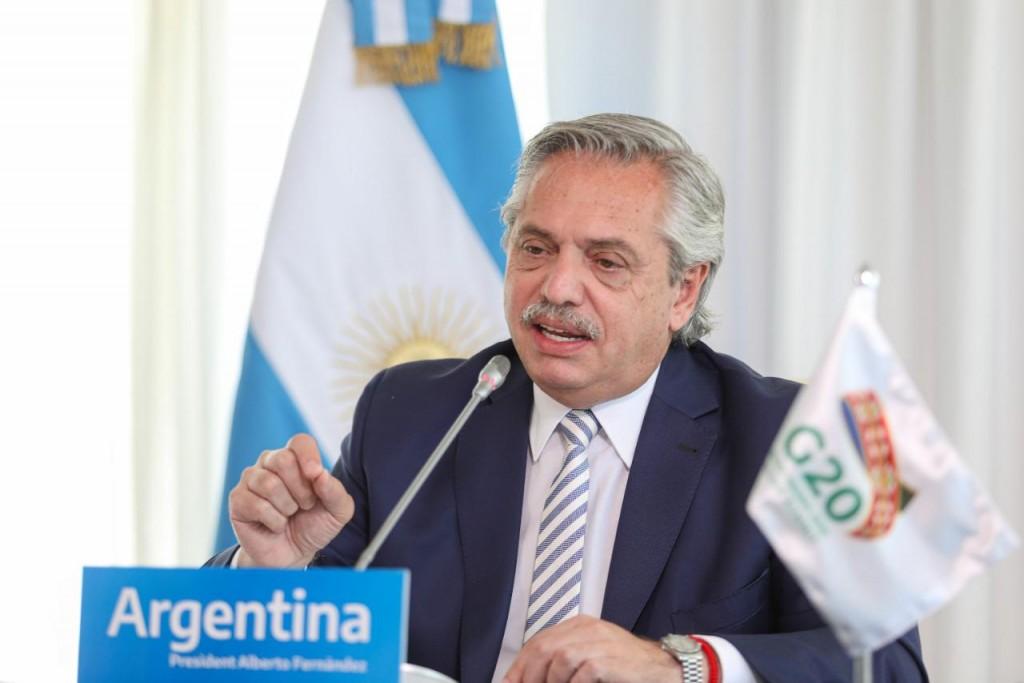 """Alberto Fernández ante el G20: """"Debemos atacar la desigualdad para vivir en un mundo más equilibrado"""""""